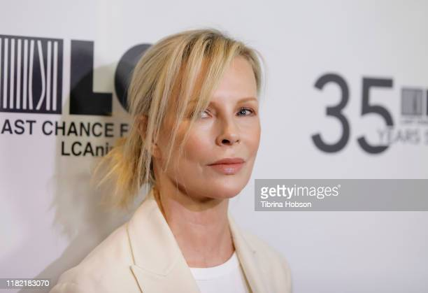 Kim Basinger attends the Last Chance for Animals' 35th anniversary gala at The Beverly Hilton Hotel on October 19 2019 in Beverly Hills California
