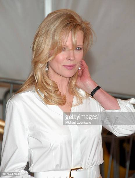 Kim Basinger during AngloMania Costume Institute Gala at The Metropolitan Museum of Art Departures Celebrating AngloMania Tradition and Transgression...