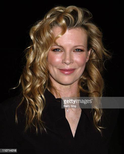 Kim Basinger during Kim Basinger Appearance at American Cinematheque at The Egyptian Theatre in Hollywood CA United States