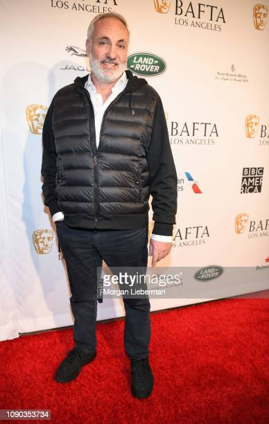 Kim Bodnia arrives at the BAFTA Los Angeles Tea Party at the Four Seasons Hotel Los Angeles in Beverly Hills on January 05 2019 in Los Angeles...