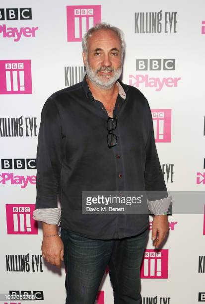 Kim Bodnia attends an after party celebrating the BBC's new drama Killing Eve at No 11 Carlton House Terrace on September 5 2018 in London England