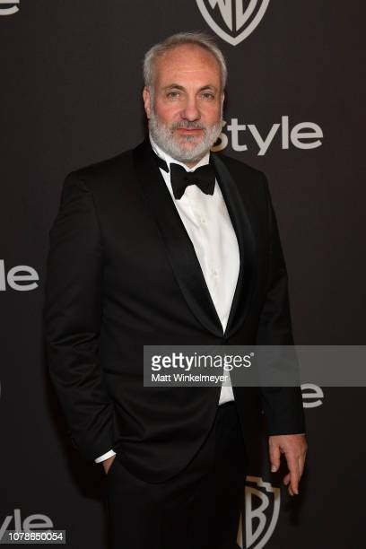 Kim Bodnia attends the 2019 InStyle and Warner Bros. 76th Annual Golden Globe Awards Post-Party at The Beverly Hilton Hotel on January 6, 2019 in...