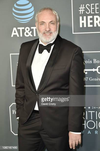Kim Bodnia attends the 24th Annual Critics' Choice Awards - Arrivals at Barker Hangar on January 13, 2019 in Santa Monica, California.