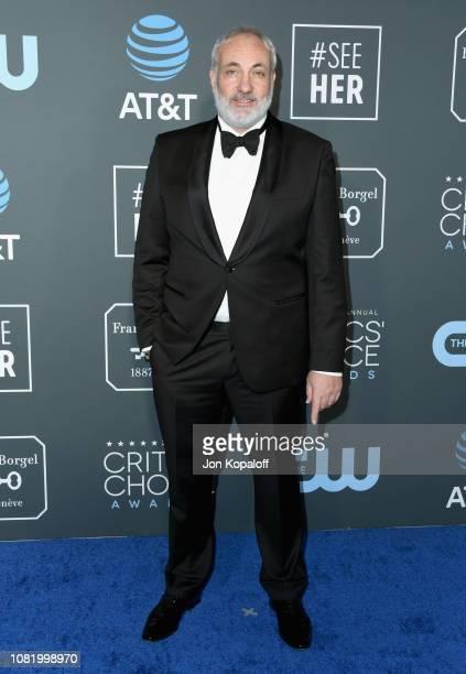Kim Bodnia attends the 24th annual Critics' Choice Awards at Barker Hangar on January 13, 2019 in Santa Monica, California.