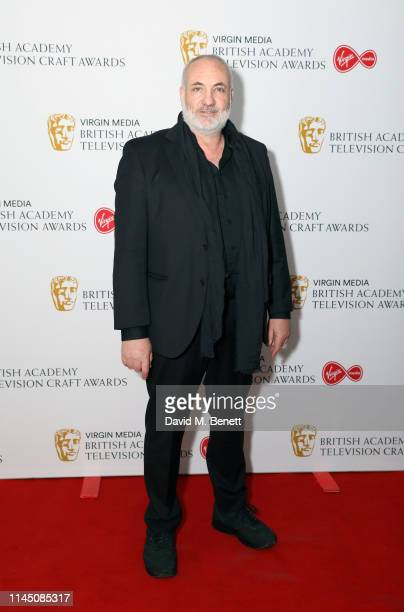Kim Bodnia attends the British Academy Television and Craft Awards nominees party at Sea Containers on April 25, 2019 in London, England.