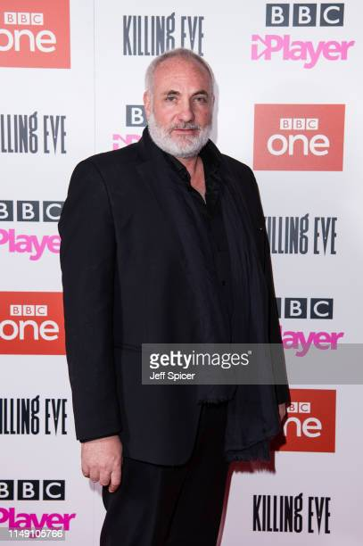 Kim Bodnia attends the Killing Eve Series Two premiere at Curzon Soho on May 14 2019 in London England