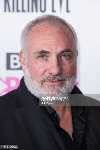 """Kim Bodnia attends the """"Killing Eve"""" Series Two premiere at Curzon Soho on May 14, 2019 in London, England."""