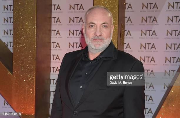 Kim Bodnia attends the National Television Awards 2020 at The O2 Arena on January 28 2020 in London England