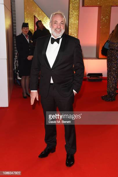 Kim Bodnia attends the National Television Awards held at The O2 Arena on January 22, 2019 in London, England.