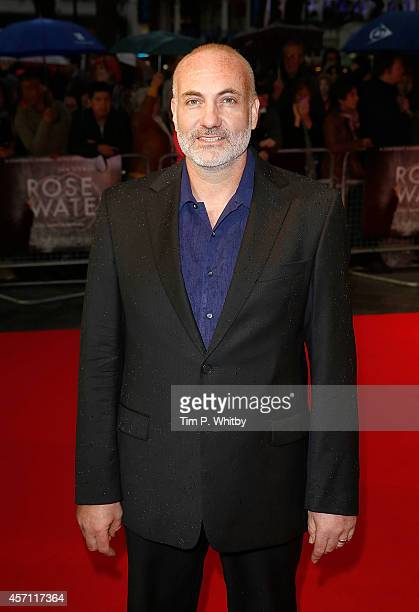 Kim Bodnia attends the red carpet arrivals of Rosewater during the 58th BFI London Film Festival at Odeon West End on October 12 2014 in London...