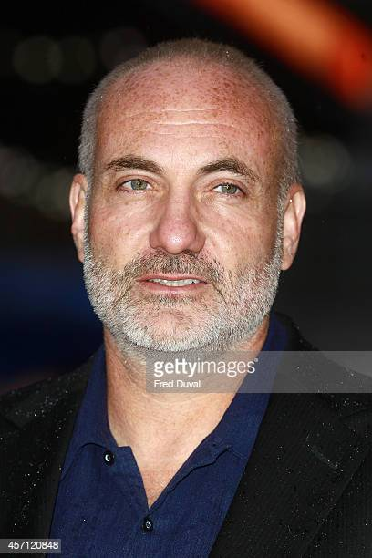 Kim Bodnia attends the screening of Rosewater during the 58th BFI London Film Festival at Odeon West End on October 12 2014 in London England