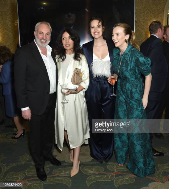 Kim Bodnia Sarah Barnett Phoebe WallerBridge and Jodie Comer attend The BAFTA Los Angeles Tea Party at Four Seasons Hotel Los Angeles at Beverly...