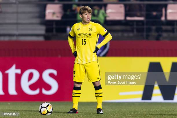 Kim BoKyung of Kashiwa Reysol in action during the AFC Champions League 2018 Group E match between Jeonbuk Hyundai Motors FC and Kashiwa Reysol at...