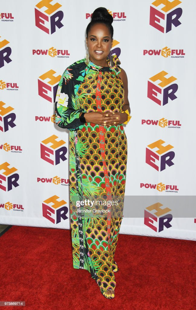 Kim Bondy attends the PowHERful Benefit Gala on June 13, 2018 at Tribeca Rooftop in New York City.