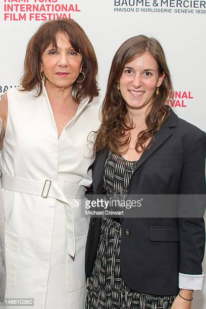Kim Brizolla and Madeleine Sackler attend the 20th Anniversary Hamptons International Film Festival screening of Common Language The Art of Composing...