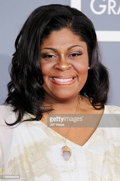 Kim Burrell arrives at The 54th Annual GRAMMY Awards at Staples Center on February 12 2012 in Los Angeles California