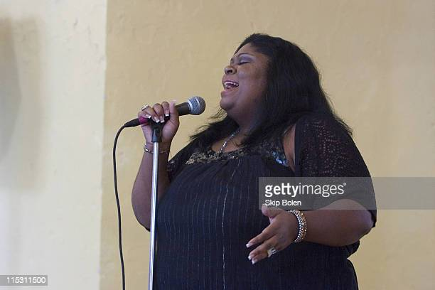Kim Burrell Grammy Award Nominee during Hurricane Katrina One Year Later New Orleans Rebuild the Soul of America Charitable Trust with Wynton...