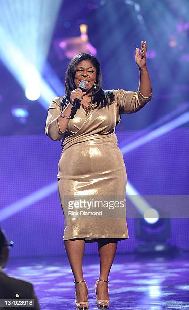 Kim Burrell performs at the 27th Annual Stellar Awards at Grand Ole Opry House on January 14 2012 in Nashville Tennessee