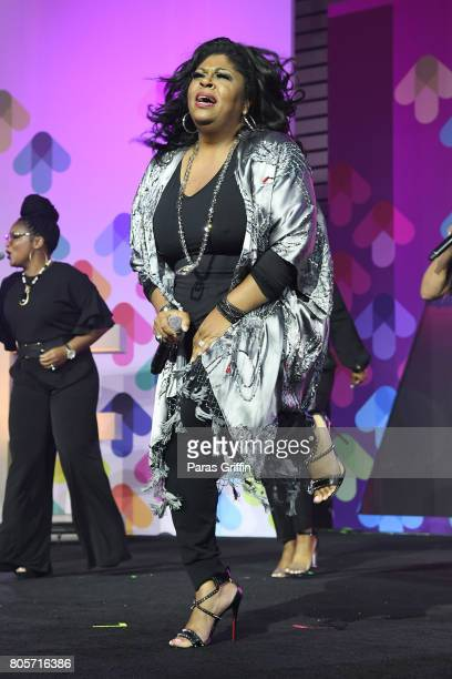 Kim Burrell performs onstage at the 2017 ESSENCE Festival presented by CocaCola at Ernest N Morial Convention Center on July 2 2017 in New Orleans...