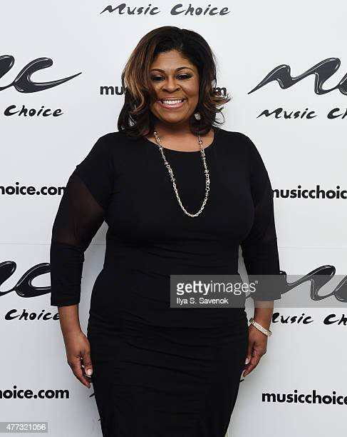 Kim Burrell Visits Music Choice at Music Choice on June 16 2015 in New York City