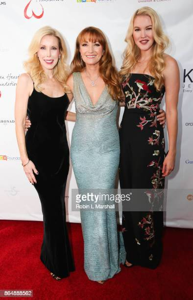 Kim Campbell Actress /Philanthropist Jane Seymour and Ashley Campbell attend the 2017 Open Hearts Gala at SLS Hotel on October 21 2017 in Beverly...