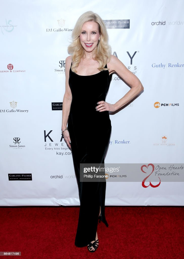 Kim Campbell at Jane Seymour And The 2017 Open Hearts Gala at SLS Hotel on October 21, 2017 in Beverly Hills, California.