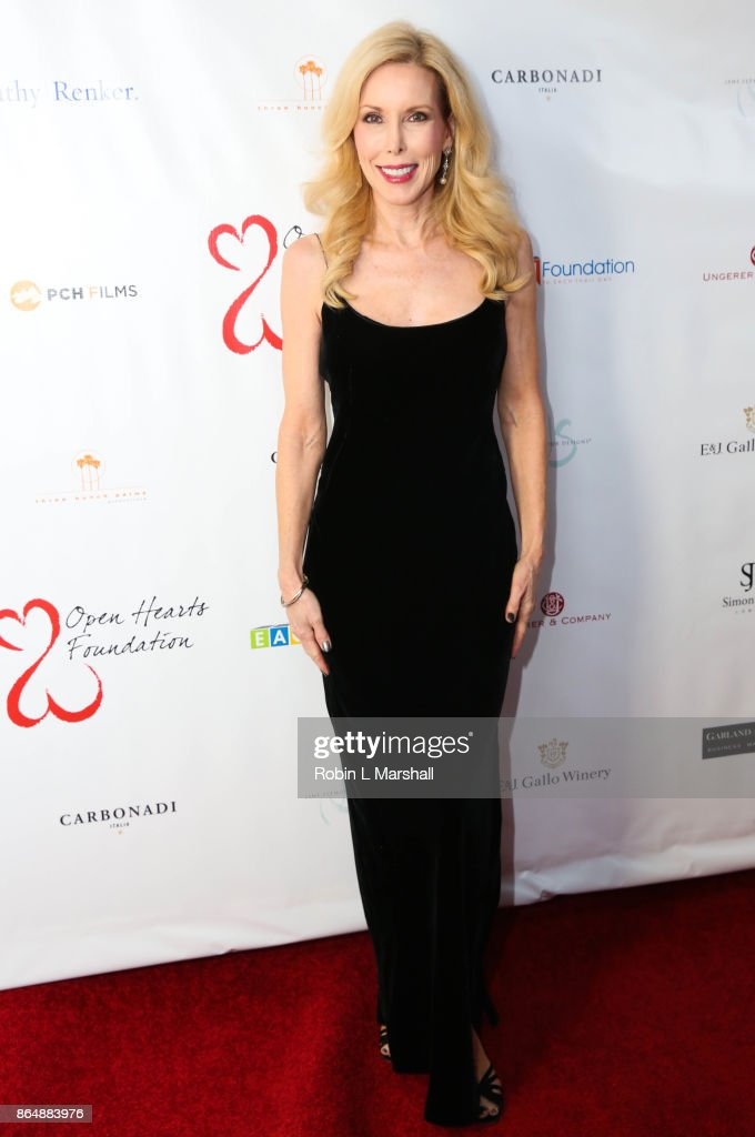 Kim Campbell attends the 2017 Open Hearts Gala at SLS Hotel on October 21, 2017 in Beverly Hills, California.