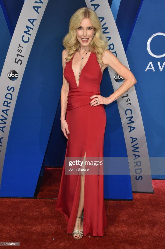 Kim Campbell attends the 51st annual CMA Awards at the Bridgestone Arena on November 8, 2017 in Nashville, Tennessee.