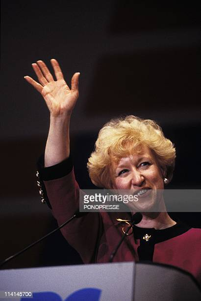 Kim Campbell elected Canadian Prime Minister In Ottawa Canada On June 13 1993