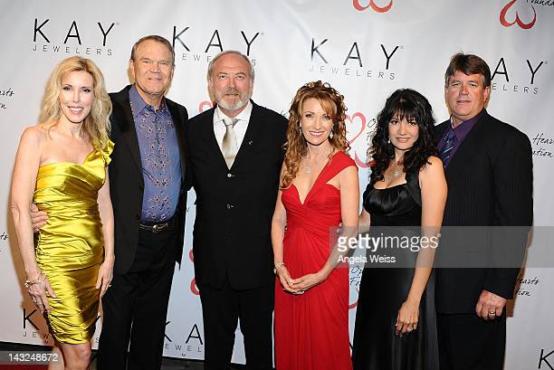 Kim Campbell Glen Campbell James Keach Jane Seymour Roxanne Green and John Green attend Jane Seymour's 2nd annual Open Hearts Foundation Celebration...