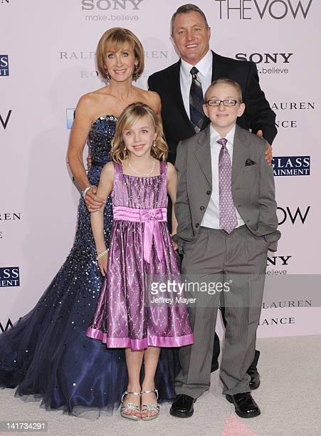 """Kim Carpenter and Krickitt Carpenter arrive at """"The Vow"""" Los Angeles Premiere at Grauman's Chinese Theatre on February 6, 2012 in Hollywood,..."""