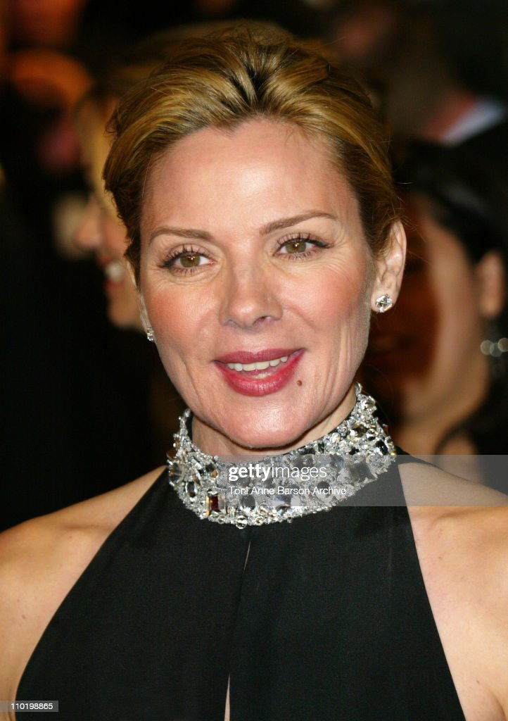 Kim Cattral during 2004 Vanity Fair Oscar Party - Arrivals at Mortons in Beverly Hills, California, United States.