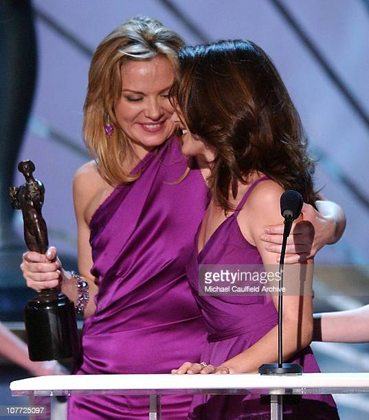 Kim Cattrall and Kristin Davis winners for Outstanding Ensemble in a Comedy Series Award for 'Sex and the City'