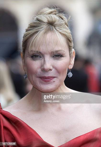 Kim Cattrall Arrives For The World Premiere Of Sex And The City The Movie At The Odeon West End Leicester Square London