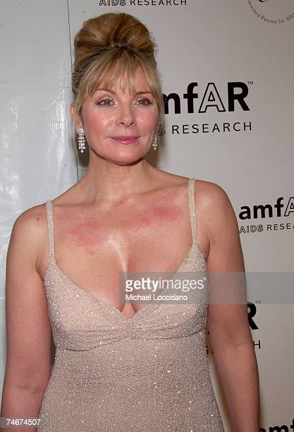 Kim Cattrall at the AmfAR New York City Gala Honoring John Demsey Whoopi Goldberg and Bill Roedy Inside at Cipriani's 42nd Street in New York City...
