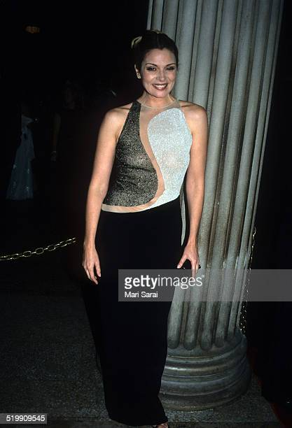 Kim Cattrall at the Metropolitan Museum's Costume Institute gala exhibition New York New York December 6 1999