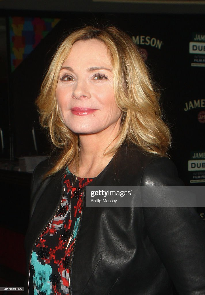Kim Cattrall attends a screening of 'Sensitive Skin' during the Jameson Dublin International Film Festival at Movies At Dundrum on March 26, 2015 in Dublin, Ireland.