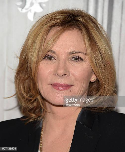 Kim Cattrall attends AOL Build Presents 'Sensitive Skin' at AOL Studios In New York on January 29 2016 in New York City