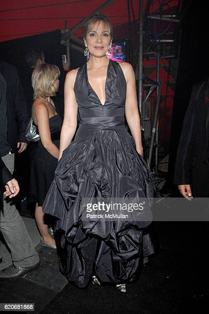 Kim Cattrall attends LIFE BALL 2008 at Vienna on May 17 2008 in Vienna Austria