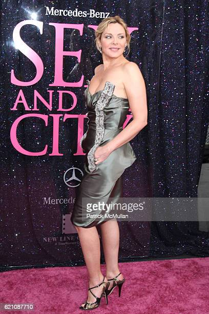 Kim Cattrall attends New York Premiere of New Line Cinema's 'SEX AND THE CITY' at Radio City Music Hall on May 27 2008 in New York City