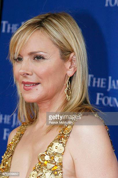 Kim Cattrall attends The 2008 James Beard Foundation Awards at Lincoln Center on June 8 2008 in New York City