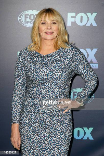 Kim Cattrall attends the 2019 FOX Upfront at Wollman Rink, Central Park on May 13, 2019 in New York City.
