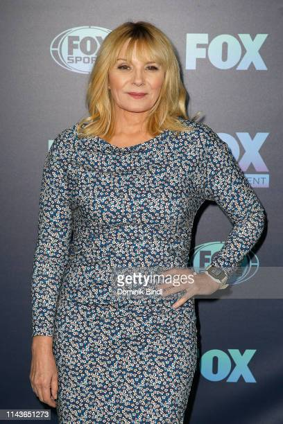 Kim Cattrall attends the 2019 FOX Upfront at Wollman Rink Central Park on May 13 2019 in New York City