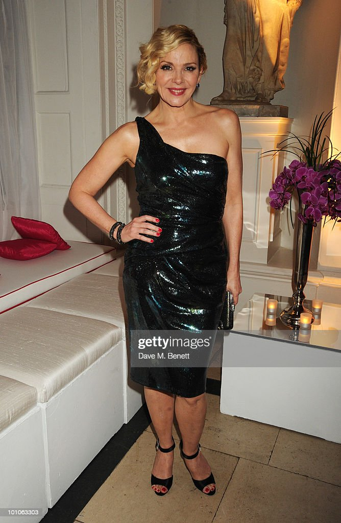 Kim Cattrall attends the afterparty following the UK film premiere of 'Sex and the City 2' at The Kensington Palace on May 27, 2010 in London, England.