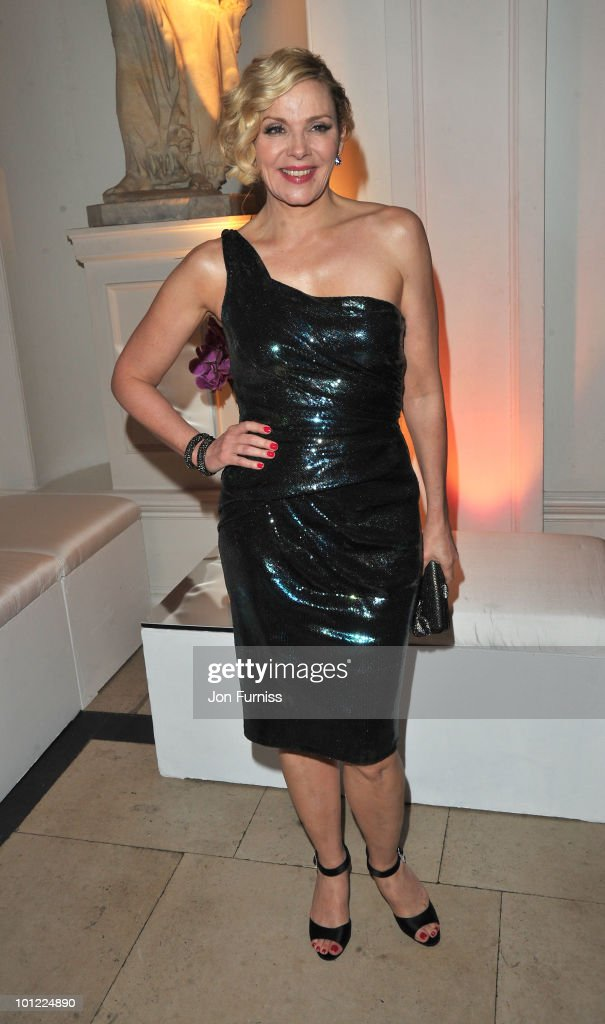Kim Cattrall attends the afterparty for 'Sex And The City 2' at Kensington Palace on May 27, 2010 in London, England.