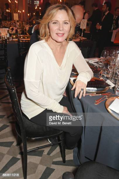 Kim Cattrall attends the BOVET 1822 Brilliant is Beautiful Gala benefitting Artists for Peace and Justice's Global Education Fund for Women and Girls...
