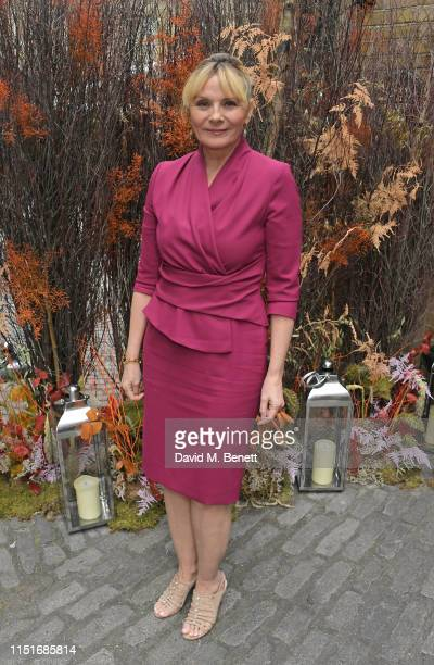 Kim Cattrall attends the Midsummer Party for The Old Vic at The Brewery on June 23 2019 in London England