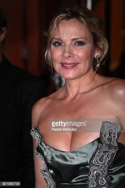 Kim Cattrall attends The New York Premiere of New Line Cinema's SEX AND THE CITY After Party at MoMa on May 27 2008 in New York City