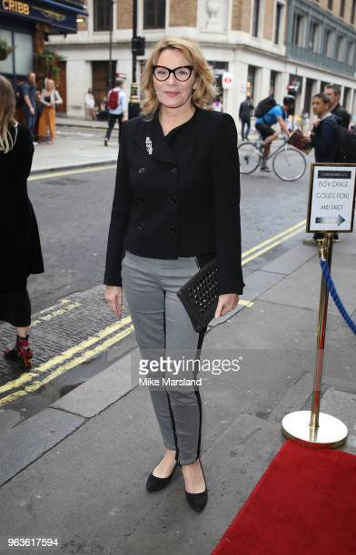 Kim Cattrall attends the opening night of Nina Raine's 'Consent' at Harold Pinter Theatre on May 29 2018 in London England