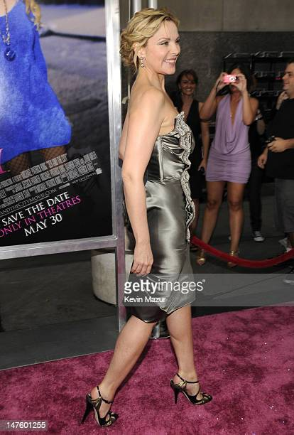 Kim Cattrall attends the premiere of 'Sex and the City The Movie' at Radio City Music Hall on May 27 2008 in New York City